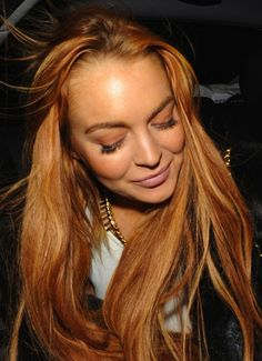 Lindsay Lohan, she's messed up but she's still pretty