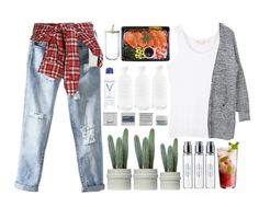 """#W"" by credentovideos ❤ liked on Polyvore featuring R13, Korres, Byredo, canvas, Vichy and LSA International"