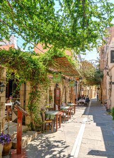 Old Town Of Rethymnon Crete Greece