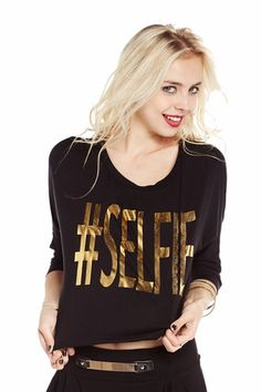 Full of Your #Selfie Graphic Top only $14.99