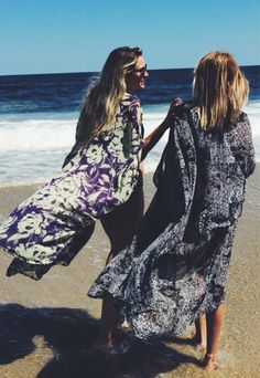 Black & White Tribal Print Kimono Long by StellaAndStosh on Etsy