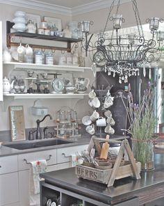 Marie's Maison: Charming French Farmhouse Kitchen