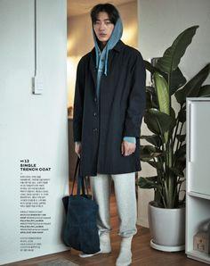 Shon Min Ho by Kim Hyung Sik for Elle Korea March 2015