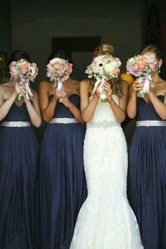Love the bridemaids dresses and adore the wedding dress!