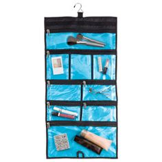 Hanging Multi-Pocket Cosmetic Bag: Have it packed with samples and ready to go!