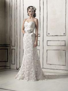 Lace Dress (Justin Alexander, Bravura)