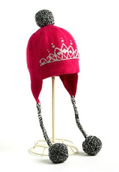 Kate Spade New York Crown Ski Hat