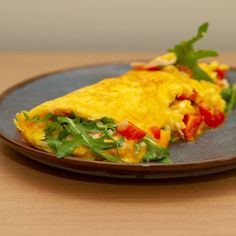 Omelette, Thai Red Curry, Food And Drink, Ethnic Recipes, Oktoberfest, Red Peppers, Omelet, Frittata