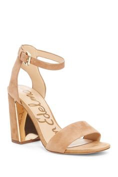 164483e573f6 Loving these Sam Edelman Synthia Open Toe Suede Sandals Chunky Sandals