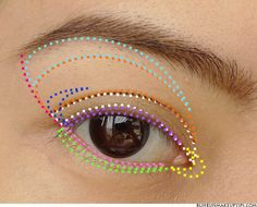 Eye Makeup Tutorial_Eyeshadow Placement_All_Open