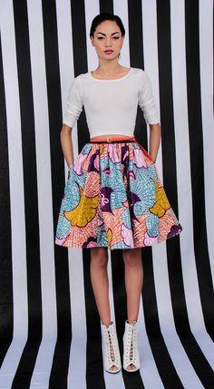 NEW The Maggie Skirt por DemestiksNewYork en Etsy
