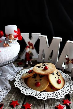 RUDOLF KEKSZ ~ Xmas, Christmas, Gingerbread Cookies, Birthday Cake, Macaron, Baking, Cakes, Food, Recipes