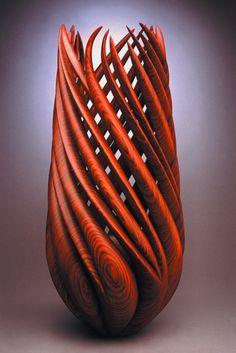 Kinetic Garden, 2005, by William Hunter; Cocobolo