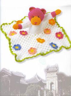Mantas de apego en crochet Crochet Amigurumi, Crochet Baby, Preemie Octopus, Crochet Security Blanket, Baby Lovey, Baby Accessories, Puppets, Free Pattern, Blog