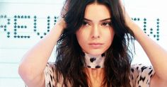 Model, designer, and reality TV star Kendall Jenner has a DIY acne cream that's easy to make at yourself!