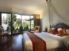 One of the leading hotels in Siem Reap, Grand Soluxe Angkor Palace Resort & Spa.