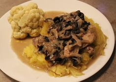 Gluten Free Travels: Coconut Chicken and Mushroom with Spaghetti Squash...