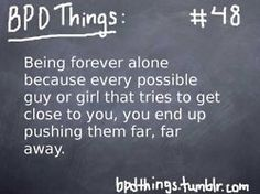BPD Things:.