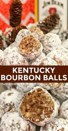 Do you like to make Christmas cookies? If so, then you have to add Kentucky bourbon balls to your list! These delicious Kentucky bourbon balls are a classic treat, perfect for any get together! This year, make sure that you make this delicious dessert recipe for your holiday party!