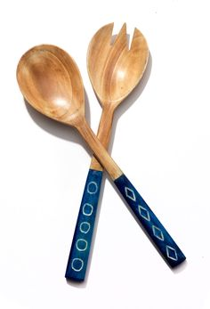 The Gypsy Rose Gift Guide - Two's Company serving utensils, $48 for pair, gumtreela.com.