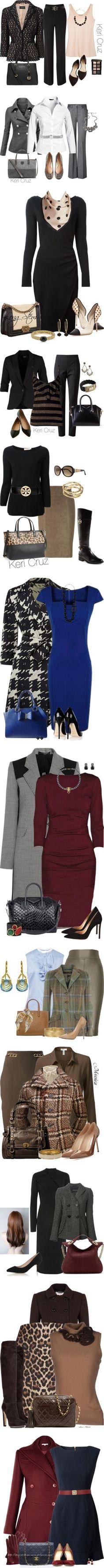 New Fashion Work Outfit Winter Michael Kors Ideas - Dresses/Cute Clothes - Punk Kids Winter Fashion, Kids Fashion, Fashion Ideas, Winter Outfits For Work, Outfit Winter, Executive Outfit, Professional Wardrobe, Punk, Michael Kors