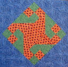 Starwood Quilter: Friendship Star Variation Quilt Block