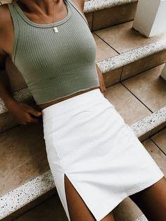Summer Fashion Tips .Summer Fashion Tips Cute Casual Outfits, Cute Summer Outfits, Spring Outfits, Outfit Summer, Unique Outfits, Summertime Outfits, Skirts For Summer, Casual Summer, Edgy Summer Style