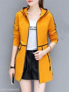 Women's coats – High Fashion For Women Women's Fashion Dresses, Hijab Fashion, Iranian Women Fashion, Womens Fashion, Korean Fashion Pastel, Summer Outfits, Casual Outfits, Coats For Women, Clothes For Women