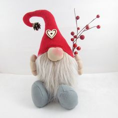 Christmas Gnome Doorstop - Bob II | wowthankyou.co.uk
