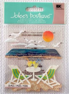 Jolee's Boutique 1pk. embellishment Stickers NIP)  #Jolees