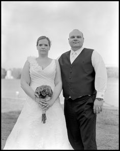 Large Format Photography  Film Portrait of Bride & Groom  Photografia Classic Weddings  www.photografia.ca