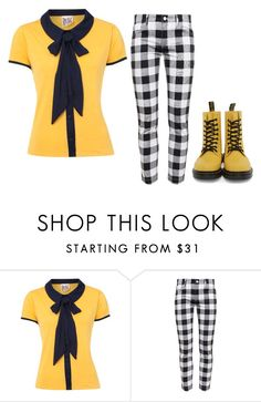 """Untitled #74"" by abriellekitty ❤ liked on Polyvore featuring Therapy, Dolce&Gabbana and Dr. Martens"