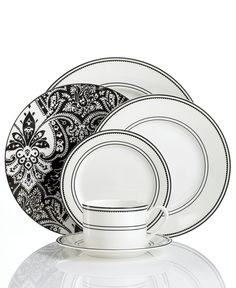 Lauren Ralph Lauren Dinnerware Spectator Collection - Lauren Ralph Lauren - Dining u0026 Entertaining - Macyu0027s  sc 1 st  Pinterest & Denby Monsoon Chrysanthemum 16-piece Dinnerware Set | Overstock.com ...