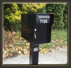 "Fort Knox Mailbox Vacationer B Vacationer - Black by Fort Knox Mailbox. $464.59. 1/4"" Steel shell (as with all Fort Knox Mailboxes).3/16"" Reinforced steel doors.2"" Continuous welded steel hinge.1/4"" Steel powder coated red flag.All hand welded design. (No spot welds or rivets).3"" Outgoing compartment.7 Pin Tubular lock. (upgradable).Brushed satin nickel pull.2 Heavy duty magnets.High performance powder coating inside and out.Special colors available.Free 1-1/2"" a..."