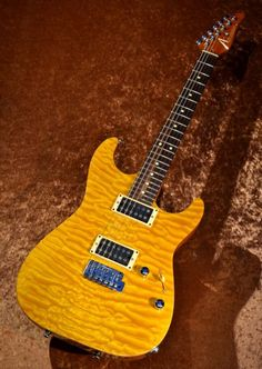 Tom Anderson Cobra S Translucent Yellow with Binding