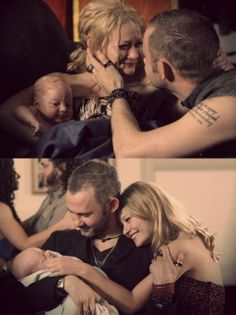 Charlie, Claire Aaron. I was so happy when Charlie and Claire remembered each other. I was crying years of happiness.