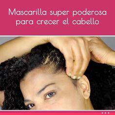 Mascarilla super poderosa para crecer el cabello
