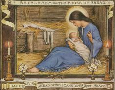 The Bread of Life Art by Cicely Mary Barker