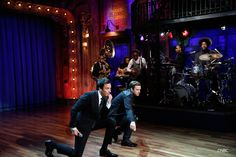 Justin Timberlake and Jimmy Fallon perform The History of Rap Part Four on Late Night #Timberweek