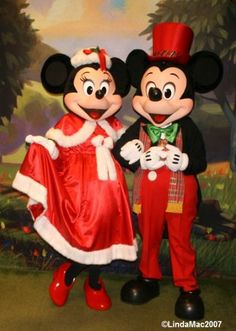 Christmas Mickey & Minnie