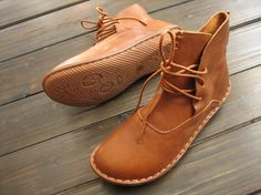 Handmade ShoesAnkle BootsOxford Women Shoes Flat Shoes by HerHis