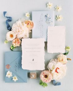 Wedding Invitation Paper, Wedding Invitation Inspiration, Wedding Stationary, Wedding Paper, Wedding Inspiration, Invites, Invitation Cards, Blue Wedding Stationery, Spring Wedding Invitations