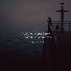 Don't let people know too much.. via (http://ift.tt/2vzQP0Q)