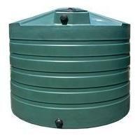 1320 gallon plastic water storage tank, great for potable water storage, emergency rain water, agriculture, & rain water harvesting & more.  Bushman Tanks