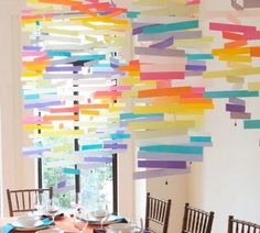 9 Easy and Inexpensive Paper Decorations for Parties