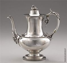 Coffee in silver