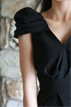 Sleek black.