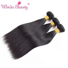 Saçlarin kapatilmasi Hair Weaving Peruvian Virgin Hair 3Pieces Straight Human Hair Weaves Wonder Beauty Natural Black Unprocessed Straight Hair Bundles 8-30 inch  -- Resmi tiklayarak AliExpress web sitesinde benzer urunleri bulunuz