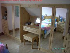 Image result for sloped ceiling desk built in