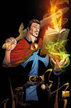 Doctor Strange by Joe Quesada, Kevin Nowlan (from Doctor Strange #1)